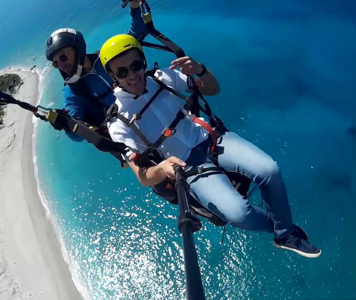 Tandem Paragliding in Vlorë Albania via Flying Mammut