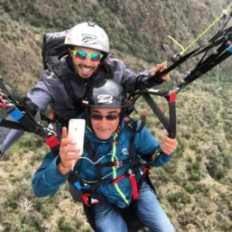 Tandem Paragliding in Sadwa' and Jabal Hada Saudi Arabia by Sport Flying via Flying Mammut