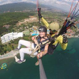 Tandem Paragliding in Ohrid Macedonia via Flying Mammut