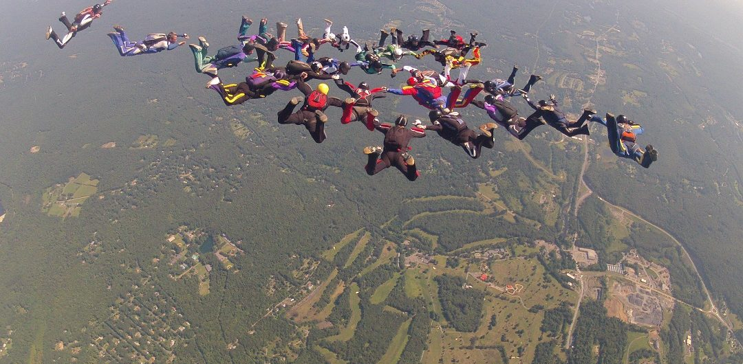 EXTREME WAYS with Louie T & Roger Ponce by Sky's The Limit Skydiving Center via Flying Mammut Events