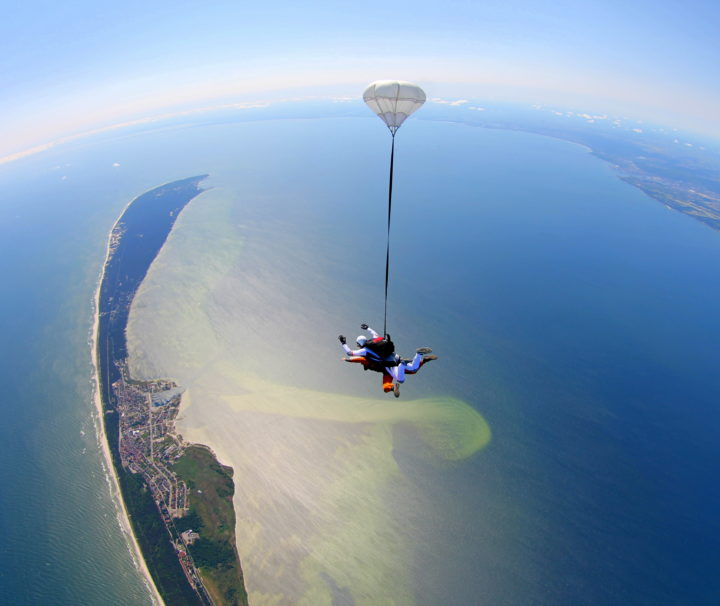 Skycamp Poland Tandem Skydive in Jastarnia Poland via Flying Mammut