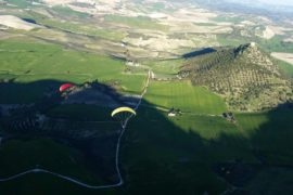Tandem Paragliding by Club Montellano via Flying Mammut