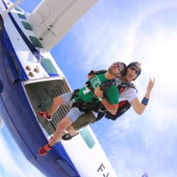 Tandem Skydiving with Skydive Athens via Flying Mammut