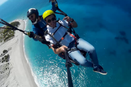 Tandem Paragliding in Vlorë Albania via Flying Mammut
