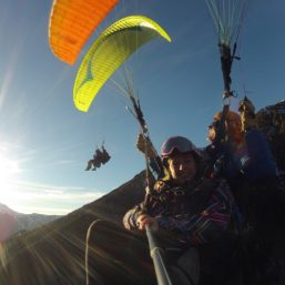 Tandem Paragliding with Fly Chamonix via Flying Mammut