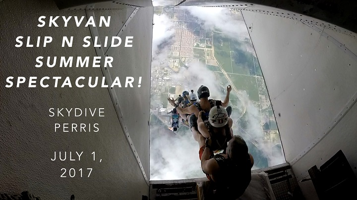 Events On Flying Mammut - Skyvan Slip N Slide Summer Spectacular
