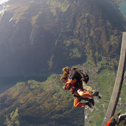 Tandem Skydiving in Interlaken Switzerland via Flying Mammut